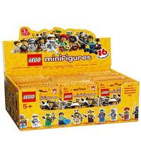 Genuine Factory Sealed LEGO 8683 Box/Case of 60 MINIFIGURES SERIES 1