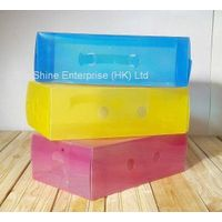 plastic PP storage shoe box