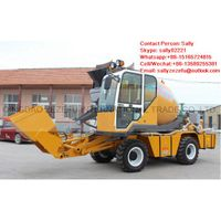1.6M3 self loading concrete mixer truck