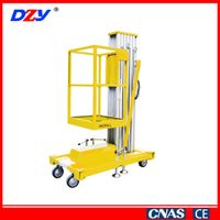 Compact Design Popular Single Mast Lifting Platform Elevator Lift