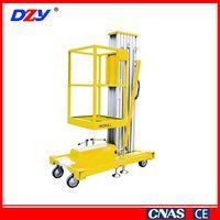 Compact Design Popular Single Mast Lifting Platform Elevator Lift