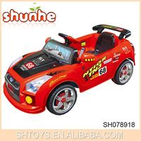 Hot selling children racing car b/o and r/c racing ride on car with EN71 and ASTM