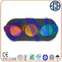 PC housing EN12368 full ball LED traffic signal light