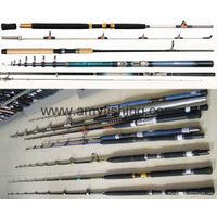 fishing rods, spinning rods, boat rods, carp rods, trolling rods, Ice rods, telescopic rods