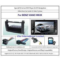 BENZ VIANO W639 2004-2010 Car DVD Player GPS Navi / Original Factory  Panel / Camera / Map Card thumbnail image
