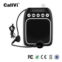 High quality Multifunction portable voice amplifier with microphone support TF card USB mini loudspe thumbnail image
