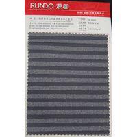 nylon spandex Lurex silver thread stripes fabric used for swimwear