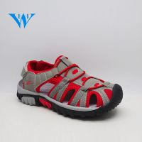 High quality sturdy summer outdoor closed toe boys beach sandals with EVA sole