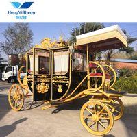 Exported to European Luxury Royal Four Wheels Wagon/ Horse Carriage