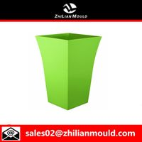 plastic modern flower pot mould
