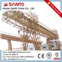 MH type single girder beam hoist travelling gantry crane
