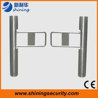 Swing turnstile/swing barrier for RFID access control system with high quality thumbnail image