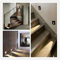 Recessed Led Wall Light Modern1W Stair Lights Step Aisle Lamps Embedded Floor Corner Light thumbnail image