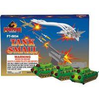 Toy fireworks Tank