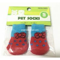 Professional Dog Sock with Anti Slip , pet socks