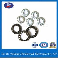 ODM&OEM DIN6798J Internal Serrated Lock washers with ISO