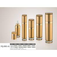 Gold acrylic plastic spray bottle with new designed cap thumbnail image