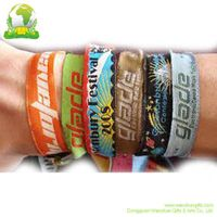 Woven/ screen printing/  sublimation Wristband