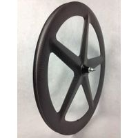 carbon five spoke wheel 700C carbon wheel