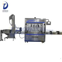 Automatic Twist Off Capping Machine Plastic Bottle Capping Machine Plastic Bottling Fill Seal Machin