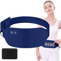 Heating pad for cramps far infrared electric USB massage belt for lower back stomach waist abdomen