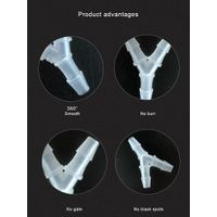 Kamoer 30-in-pack Y type Tube Connector for Peristaltic Pump Pipe Fittings thumbnail image