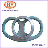 Schwing concrete pump spare parts spectacle plate DN230