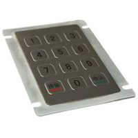 12 keys metal keypad