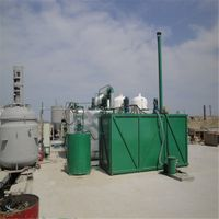 ZSA vacuum distillation machine to get base oil from waste engine oil thumbnail image
