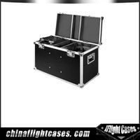 Aluminum Hardwares Laminated Tool Flight cases Custome With Casters