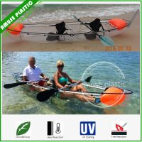 See Through Clear Glass Bottom Kayak of Polycarbonate for Sale