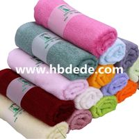 Colorful Microfiber Face Towel