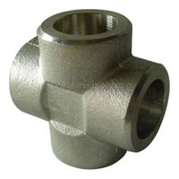 stainless steel equal cross pipe fitting