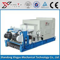 Prestressed concrete hollow core slab making machine