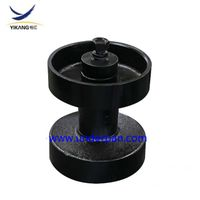 Morooka transport dumper rubber track undercarriage top roller assy MST 2200 carrier roller thumbnail image