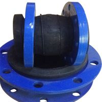 Pipe connector single arch flexible Spray flange rubber joints thumbnail image