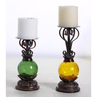 hot sell home ornament crafts resin candle holders
