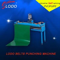 conveyor belt finger punch machine
