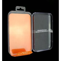 For iphone 5 clear hard plastic PVC boxes packaging type plastic bags