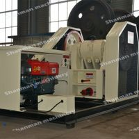 15-80tph Small Jaw Crusher Machine with diesel engine thumbnail image