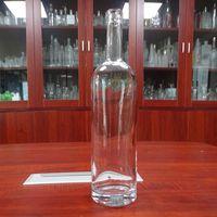 1L Round Glass Wine Bottle