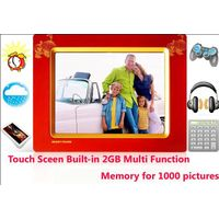 8 inch touch digital frame