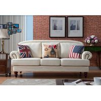 Classical American Style Fabric Sofa