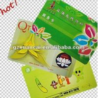 pvc business card with color printing thumbnail image