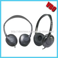 Active Noise Cancellation Headphone with Stereo Sound