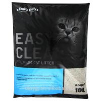 bentonite sand factory supply quick clumping round shape cat litter thumbnail image
