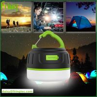 2017 hot model led camping light power bank 94-V0 fireproof with ROHS for tent