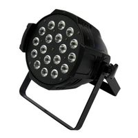 Indoor 18x10W LED Par Light RGBW perfect for wedding, concert stage lighting