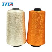 Dope Dyed Polyester Thread 300D/3 For Trimmings and Tassels