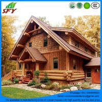 Factory of prefab wooden houses/log house with the best price thumbnail image